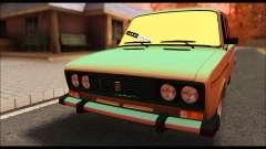 VAZ 2106 prata para GTA San Andreas