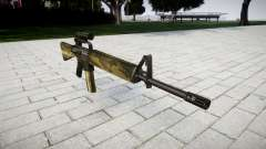 O M16A2 rifle [óptica] flora