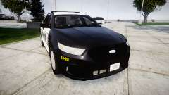 Ford Taurus 2014 Sheriff [ELS] para GTA 4