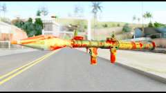 Rocket Launcher with Blood
