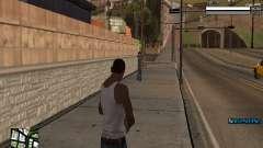 Simple C-HUD para GTA San Andreas