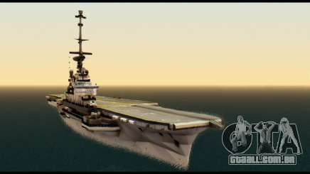 Colossus Aircraft Carrier para GTA San Andreas