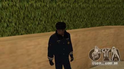 A polícia da Rússia - inverno formulário para GTA San Andreas