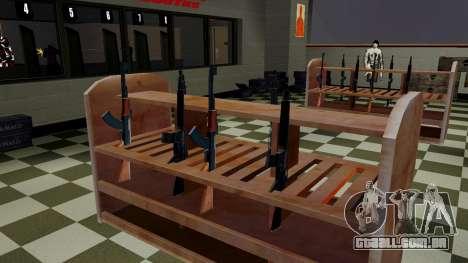 Modelos 3D de armas Ammu-nation para GTA San Andreas segunda tela