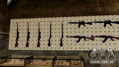 Modelos 3D de armas Ammu-nation para GTA San Andreas oitavo tela