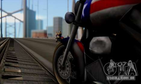 Freeway from GTA Vice City para GTA San Andreas vista direita