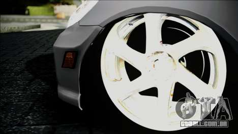 Honda Civic 2005 VTEC para GTA San Andreas traseira esquerda vista