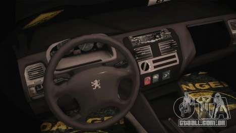 Peugeot 106 GTI F Tuning para GTA San Andreas vista direita