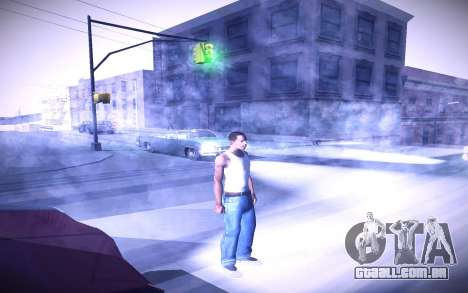 Sunny 2 ENBSeries para GTA San Andreas quinto tela