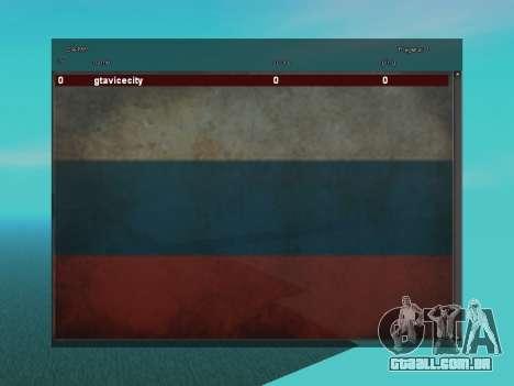 SampGUI Bandeira Da Rússia para GTA San Andreas