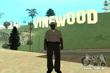 Black Police All para GTA San Andreas oitavo tela