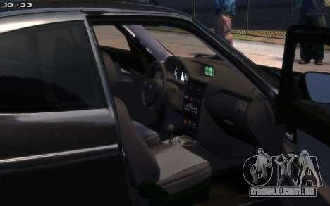 VAZ 2172 R17 para GTA 4 traseira esquerda vista