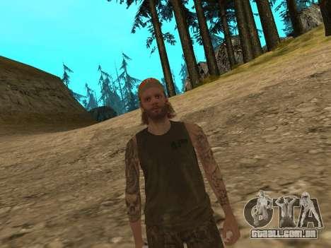 Cletus Ewing de GTA V para GTA San Andreas terceira tela