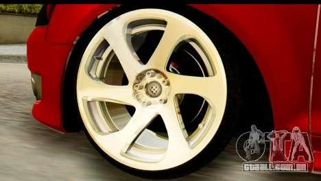 Audi S3 2007 Camber Edit para GTA San Andreas traseira esquerda vista