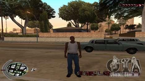 С-HUD Terror para GTA San Andreas segunda tela