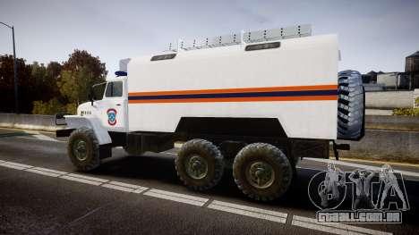 Ural 4320 MES para GTA 4 esquerda vista