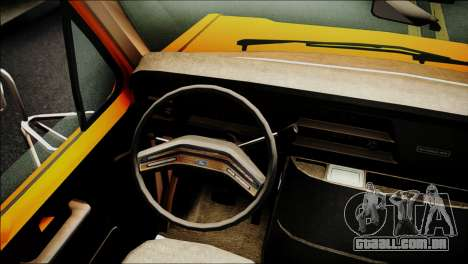 Ford E-150 Bus para GTA San Andreas vista direita