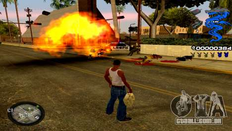 C-HUD Dragon para GTA San Andreas terceira tela