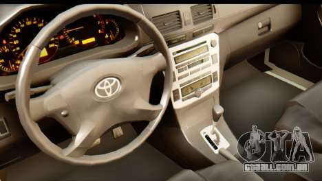Toyota Hilux Meraclo Utility 2010 para GTA San Andreas vista traseira