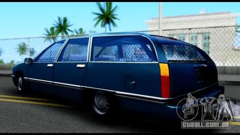 Elegant Station Wagon para GTA San Andreas