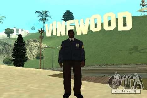 Black Police All para GTA San Andreas segunda tela