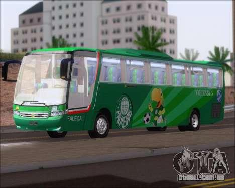 Busscar Vissta Buss LO Palmeiras para GTA San Andreas esquerda vista