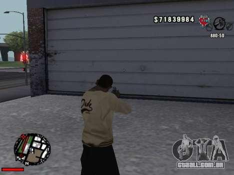 C-Hud OLD para GTA San Andreas terceira tela