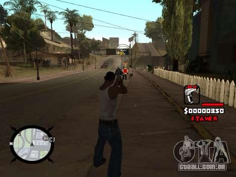 HUD by LokoMoko para GTA San Andreas terceira tela