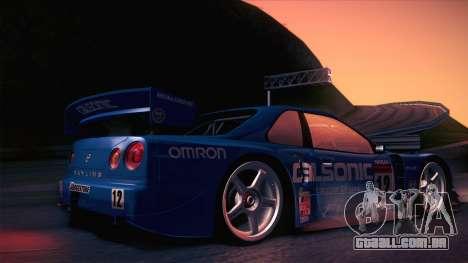 Nissan Skyline GTR-34 2003 para GTA San Andreas