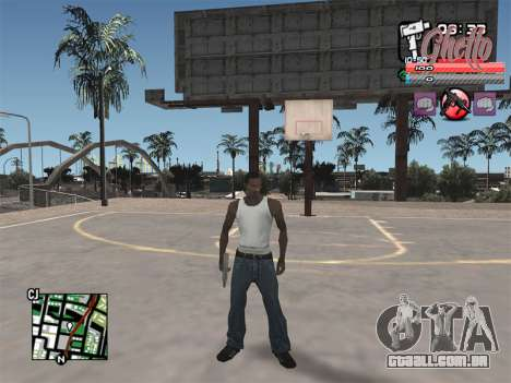 C-HUD Ghetto para GTA San Andreas terceira tela