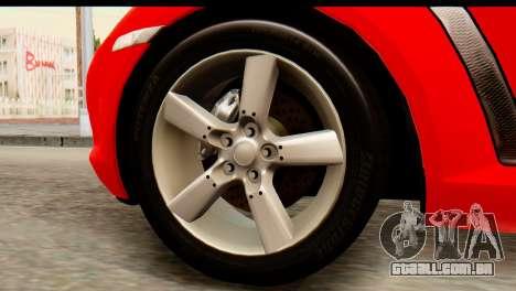 Mazda RX-8 2005 para GTA San Andreas traseira esquerda vista
