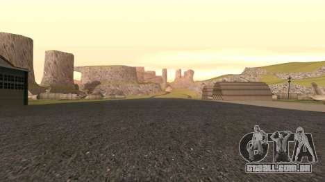 Greening o deserto para GTA San Andreas sexta tela
