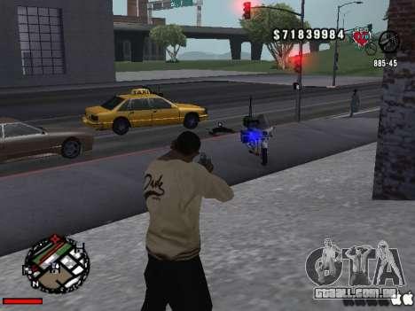C-Hud OLD para GTA San Andreas segunda tela