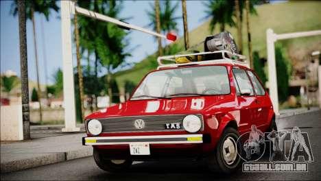 Volkswagen Golf 1 TAS Sarajevo para GTA San Andreas