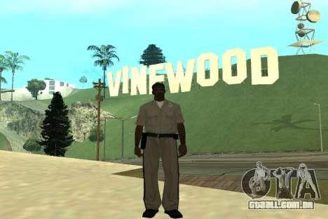 Black Police All para GTA San Andreas terceira tela