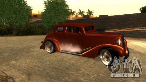 New Hustler para GTA San Andreas esquerda vista
