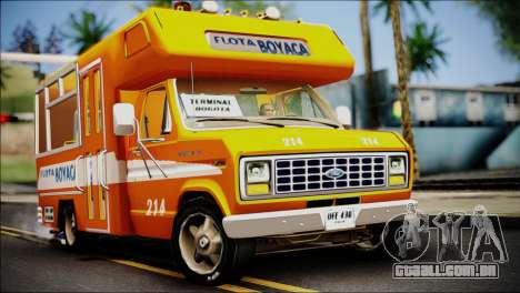 Ford E-150 Bus para GTA San Andreas