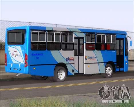 Caio Foz Super I 2006 Transurbane Guarulhoz 541 para GTA San Andreas vista direita