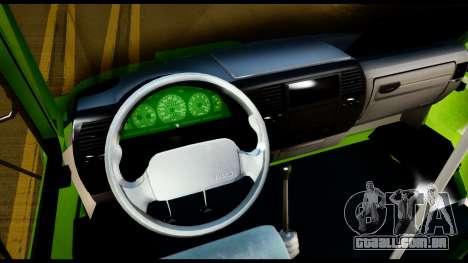 Iveco Minibus para GTA San Andreas vista traseira