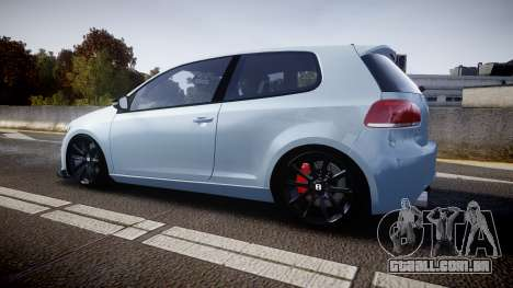 Volkswagen Golf R para GTA 4 esquerda vista