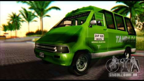 Toyota Microbus para GTA San Andreas