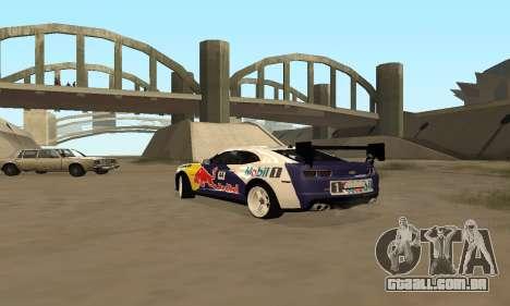 Chevrolet Camaro ZL1 RedBull para GTA San Andreas