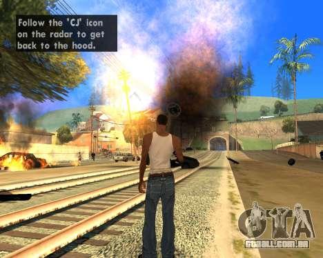 Effect Mod 2014 By Sombo para GTA San Andreas segunda tela