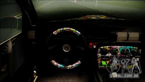 Opel Omega RAT para GTA San Andreas traseira esquerda vista
