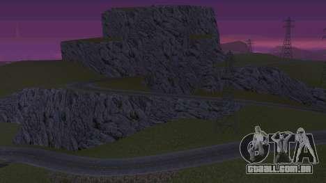 Greening o deserto para GTA San Andreas segunda tela