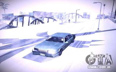 Sunny 2 ENBSeries para GTA San Andreas por diante tela