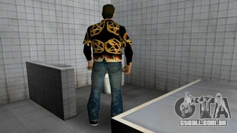 Pentagram Shirt para GTA Vice City quinto tela