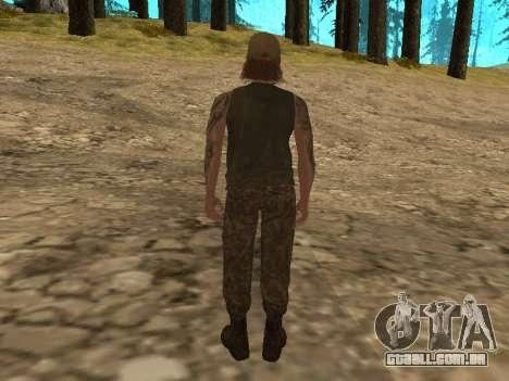 Cletus Ewing de GTA V para GTA San Andreas segunda tela