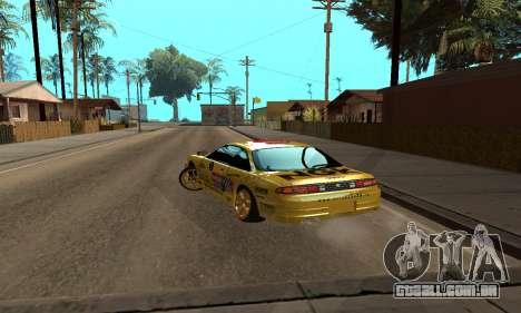 Nissan Silvia S14 NGK para GTA San Andreas esquerda vista