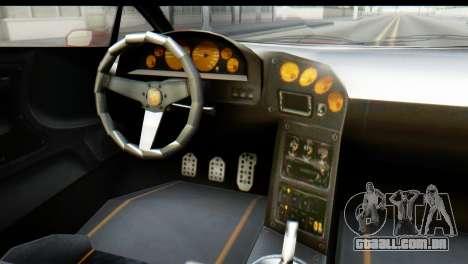 GTA 5 Pegassi Zentorno para GTA San Andreas vista traseira